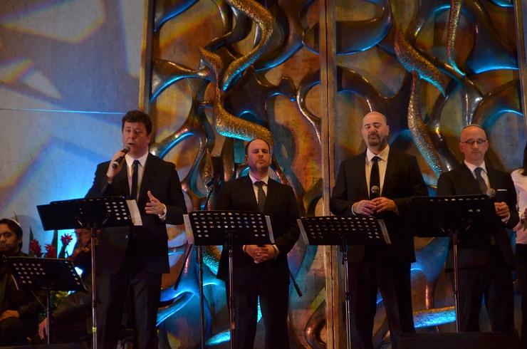 El de los Argentenors, uno de los mejores conciertos en Comunidad Bet El