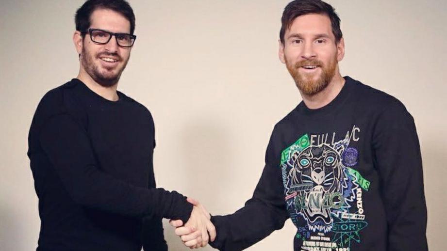Messi en la delantera de firma israelí