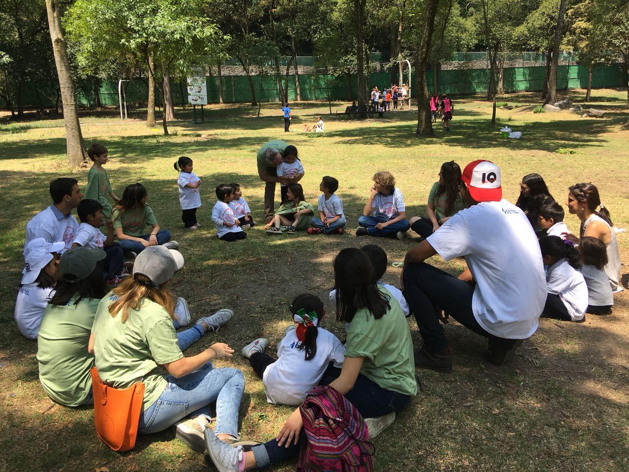 Yom Mitzvá con los niños de La Quinta Carmelita