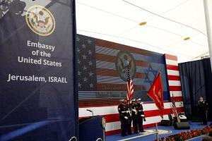 Estados Unidos traslada su embajada en Israel a Jerusalem