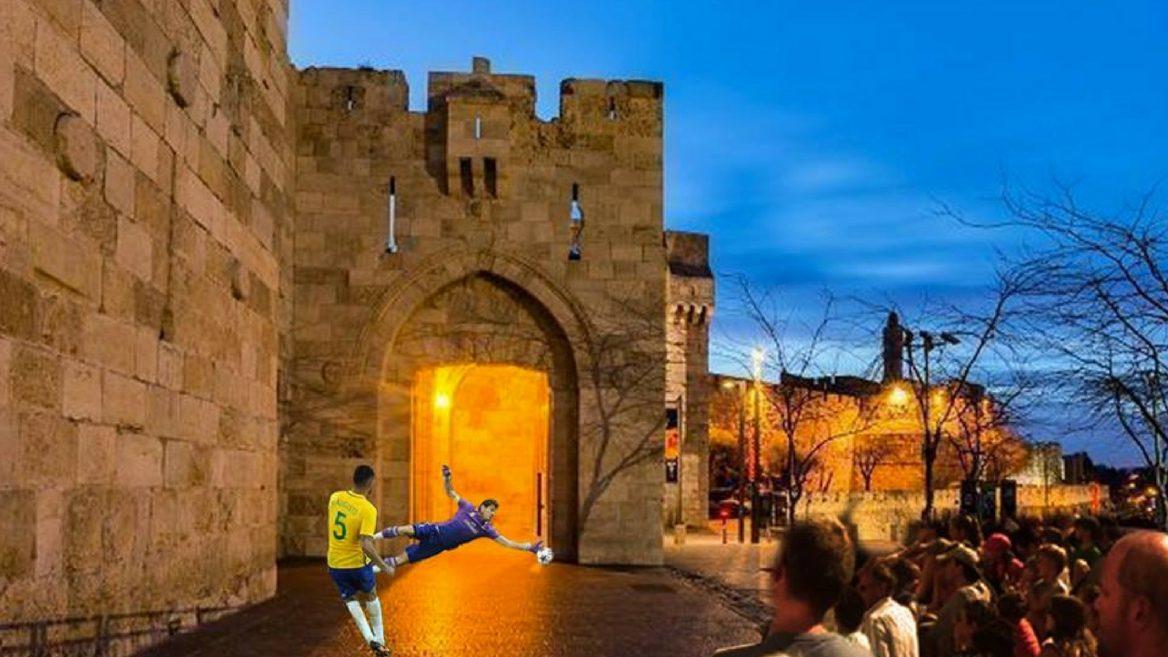 Un balón de futbol acercará a judíos y árabes