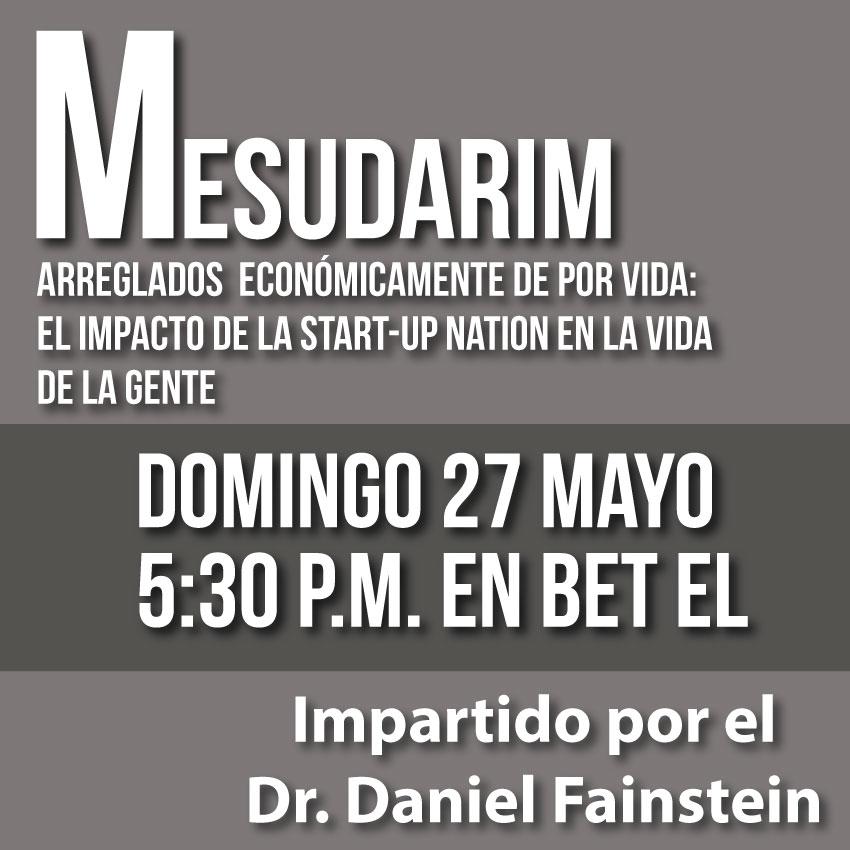 """Judíos en el cine:  domingo 27 de mayo """"Mesudarim"""""""