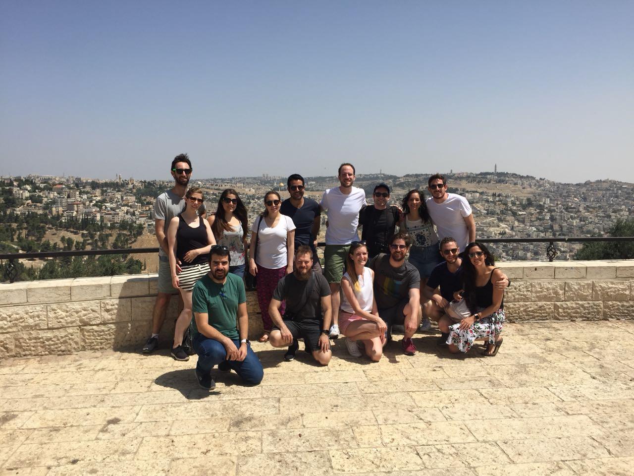 La segunda generación Bet El 3.0 se capacita en Israel