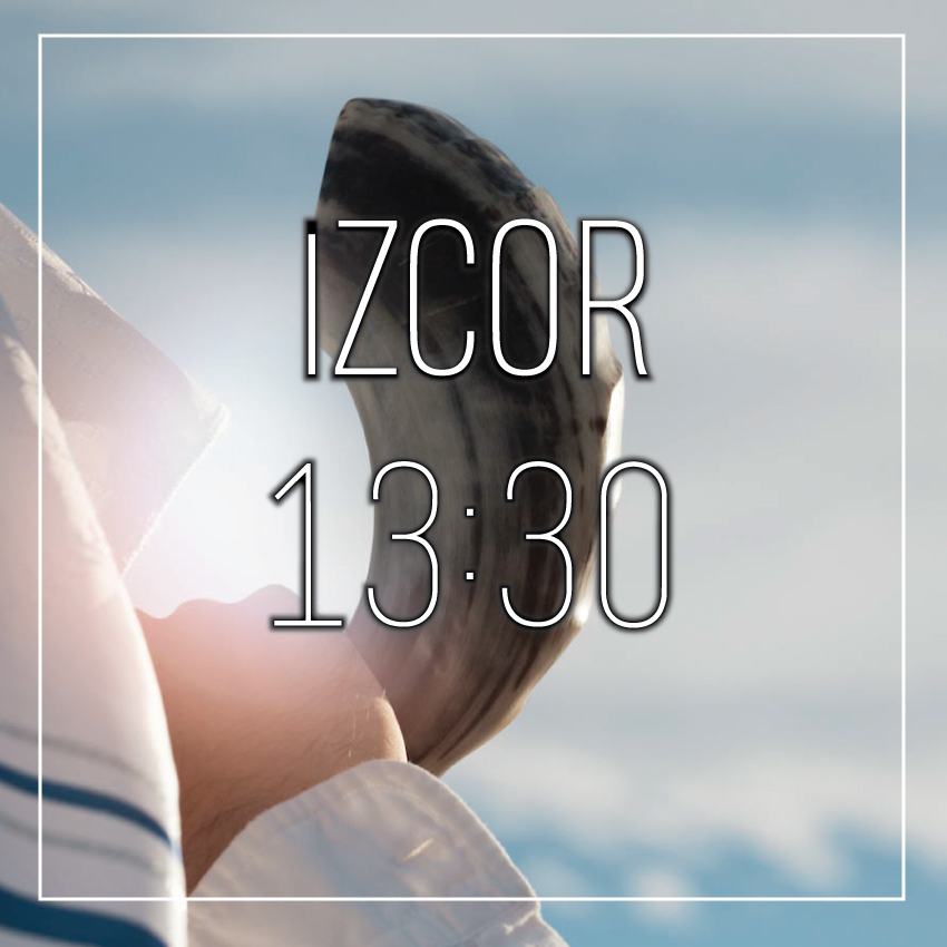IZCOR YOM KIPUR