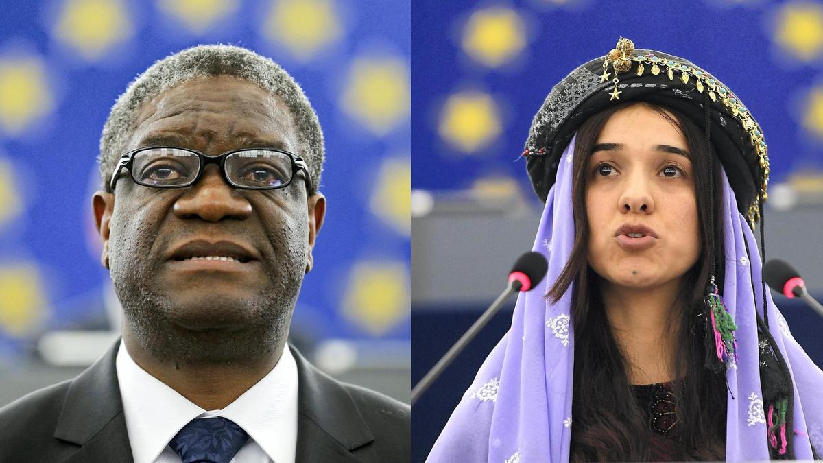 Premios Nobel de la Paz 2018