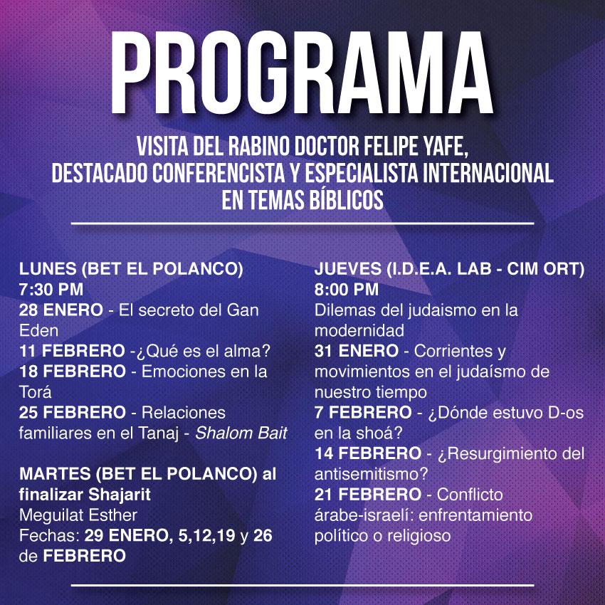 Programa Felipe Yafe en México