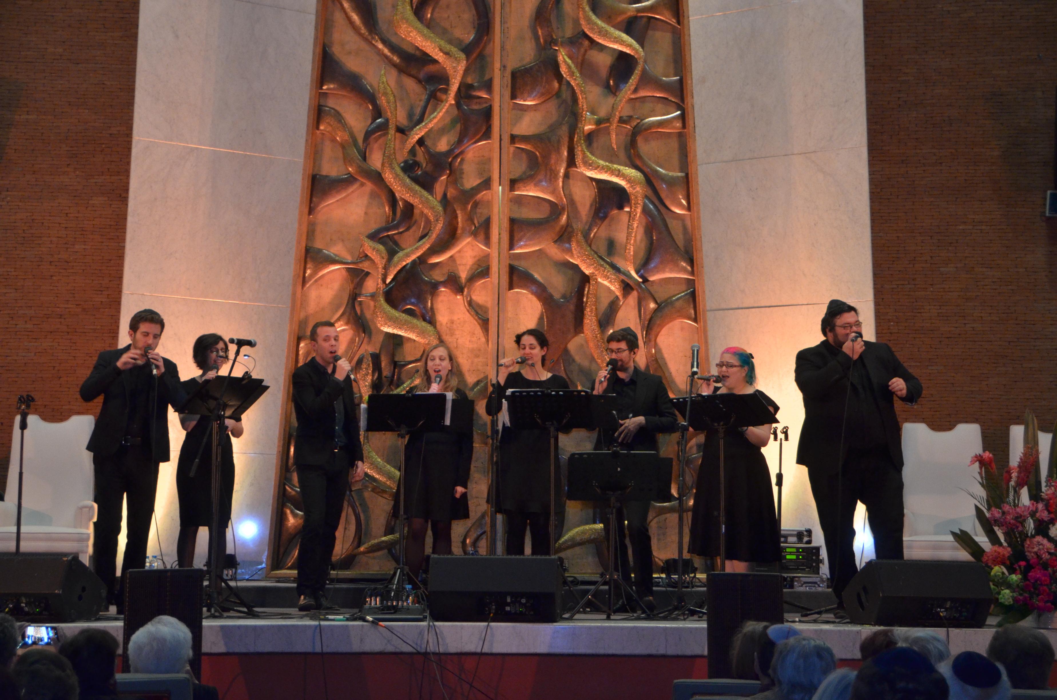 Concierto Jewish a cappella: fusión de talento y originalidad