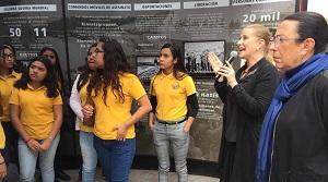 Túnel Memoria y Tolerancia en Monterrey