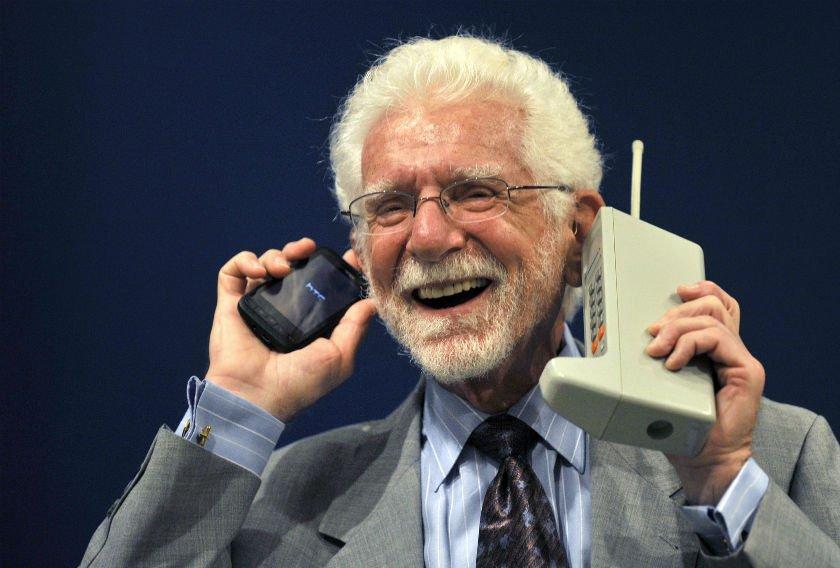 Martin Cooper: El judío que inventó el teléfono celular