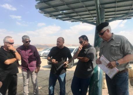 KKL construirá estaciones de descanso en la autopista 90 de Israel