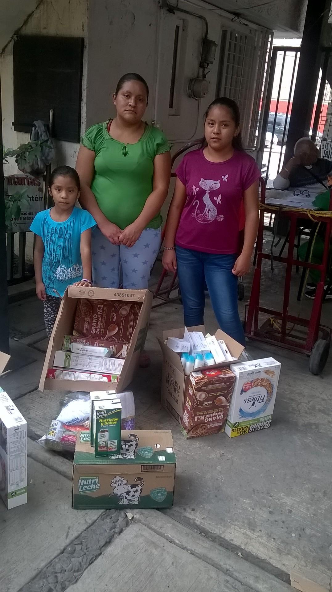 Fundación de Altruismo Bet El apoya con despensas a Prosigue-Programa Niños de la Calle A.C.