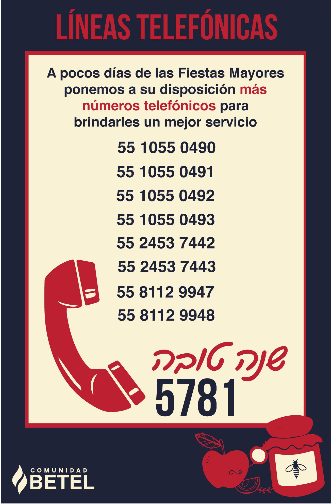 Líneas telefónicas