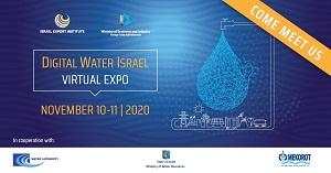 Digital Water Israel: primera exposición virtual de tecnología del agua en Israel